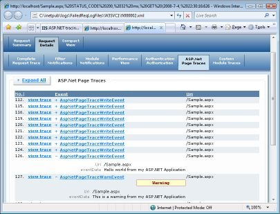 carlosag - Adding ASP NET Tracing to IIS 7 0 Failed Request Tracing