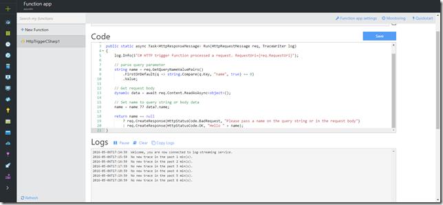 default-azure-function-code