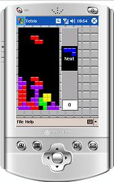 Tetris for Windows Mobile